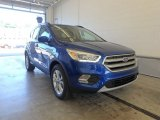2017 Lightning Blue Ford Escape SE 4WD #122078548