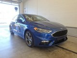 2017 Lightning Blue Ford Fusion Sport AWD #122078542