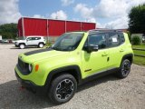 2017 Hypergreen Jeep Renegade Trailhawk 4x4 #122078593