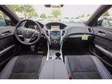 2018 Acura TLX V6 A-Spec Sedan Ebony Interior