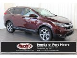2017 Basque Red Pearl II Honda CR-V EX #122078464