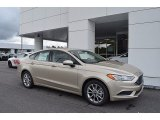 2017 White Gold Ford Fusion SE #122078572