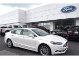 2017 White Platinum Ford Fusion SE #122078571