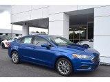 2017 Lightning Blue Ford Fusion SE #122078570