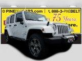 2017 Bright White Jeep Wrangler Unlimited Sahara 4x4 #122078453