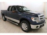 2014 Blue Jeans Ford F150 XLT SuperCab 4x4 #122078711