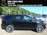 2017 Shadow Black Ford Explorer Sport 4WD #122078504