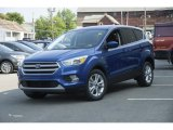 2017 Lightning Blue Ford Escape SE 4WD #122103551