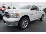 2017 Bright White Ram 1500 Big Horn Quad Cab #122103531