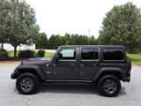 2017 Granite Crystal Metallic Jeep Wrangler Unlimited Rubicon 4x4 #122103392