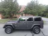 2017 Granite Crystal Metallic Jeep Wrangler Unlimited Rubicon 4x4 #122103391
