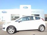 2015 Oxford White Ford Fiesta SE Hatchback #122103725