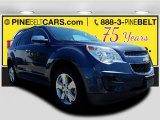 2014 Atlantis Blue Metallic Chevrolet Equinox LT #122103437