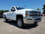 2017 Summit White Chevrolet Silverado 2500HD Work Truck Regular Cab 4x4 #122128108