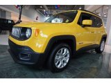2017 Solar Yellow Jeep Renegade Latitude #122128199