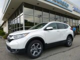 2017 White Diamond Pearl Honda CR-V EX-L AWD #122128285