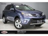 2013 Shoreline Blue Pearl Toyota RAV4 XLE #122128328