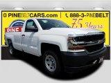 2018 Summit White Chevrolet Silverado 1500 WT Regular Cab 4x4 #122153555