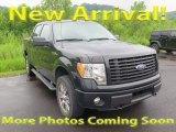 2014 Tuxedo Black Ford F150 STX SuperCrew 4x4 #122153736