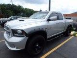 2014 Bright Silver Metallic Ram 1500 Sport Quad Cab 4x4 #122153648