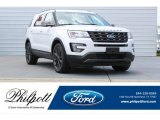 2017 Oxford White Ford Explorer XLT #122153687
