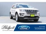 2017 White Platinum Ford Explorer Limited #122153686