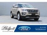 2017 White Gold Ford Explorer Limited #122153685