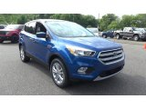 2017 Lightning Blue Ford Escape SE 4WD #122174648