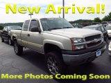 2004 Silver Birch Metallic Chevrolet Silverado 1500 LS Extended Cab 4x4 #122189493