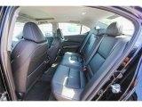 2018 Acura TLX Sedan Rear Seat