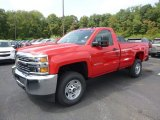 2018 Chevrolet Silverado 2500HD Work Truck Regular Cab 4x4 Data, Info and Specs