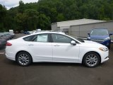2017 Oxford White Ford Fusion SE #122189419