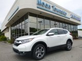 2017 White Diamond Pearl Honda CR-V EX-L AWD #122189418