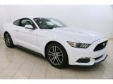 2017 Oxford White Ford Mustang Ecoboost Coupe #122212460