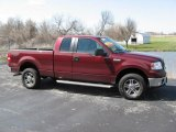 2006 Dark Toreador Red Metallic Ford F150 XLT SuperCab 4x4 #12219145