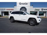 2017 Bright White Jeep Grand Cherokee Limited #122212320