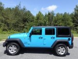 2017 Chief Blue Jeep Wrangler Unlimited Sport 4x4 #122212100