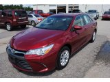 2015 Ruby Flare Pearl Toyota Camry LE #122212512
