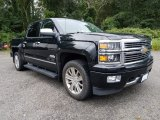 2014 Black Chevrolet Silverado 1500 High Country Crew Cab 4x4 #122212178
