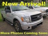 2014 Ingot Silver Ford F150 STX SuperCab 4x4 #122212371