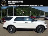 2017 White Platinum Ford Explorer Sport 4WD #122212238