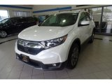 2017 White Diamond Pearl Honda CR-V EX-L AWD #122243274