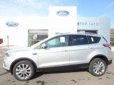 2017 Ingot Silver Ford Escape Titanium 4WD #122243336