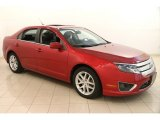 2010 Red Candy Metallic Ford Fusion SEL #122243332