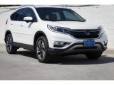 2015 White Diamond Pearl Honda CR-V Touring #122266780
