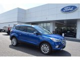 2017 Lightning Blue Ford Escape Titanium #122266767