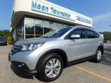 2014 Alabaster Silver Metallic Honda CR-V EX-L AWD #122266817