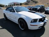 2007 Performance White Ford Mustang GT Premium Convertible #122266919