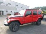 2017 Firecracker Red Jeep Wrangler Unlimited Rubicon 4x4 #122266853