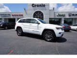 2017 Bright White Jeep Grand Cherokee Limited #122266846